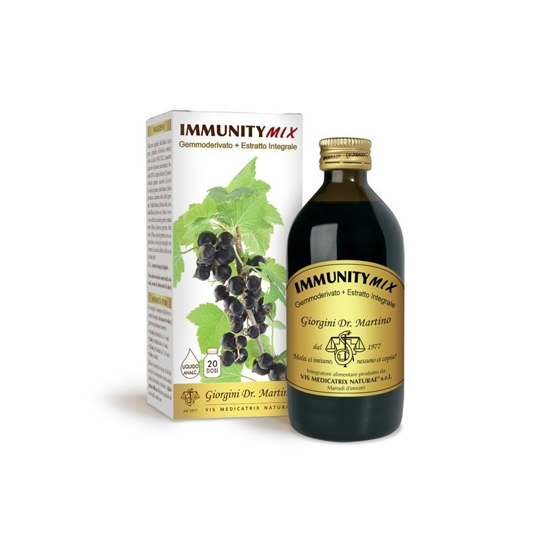 IMMUNITYMIX 200 ml liquido analcoolico - Dr. Giorgini
