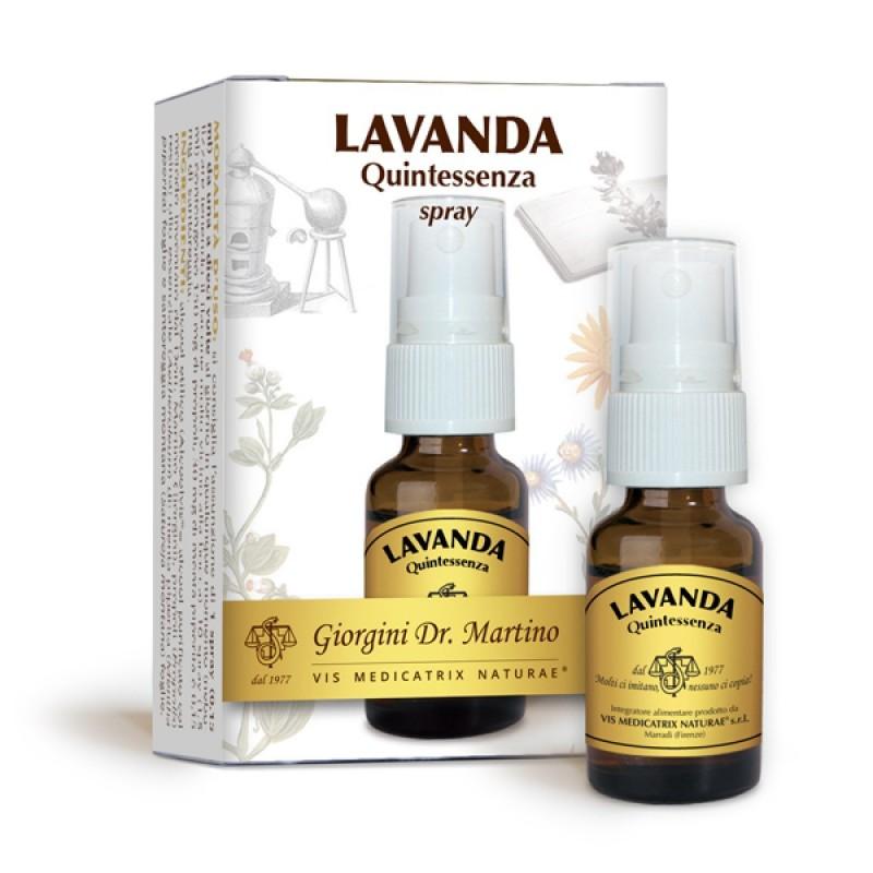 LAVANDA Quintessenza 15 ml Liquido alcoolico spray- Dr. Giorgini