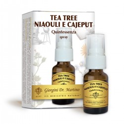 TEA TREE NIAOULI E CAJEPUT Quintessenza 15 ml Liquido...