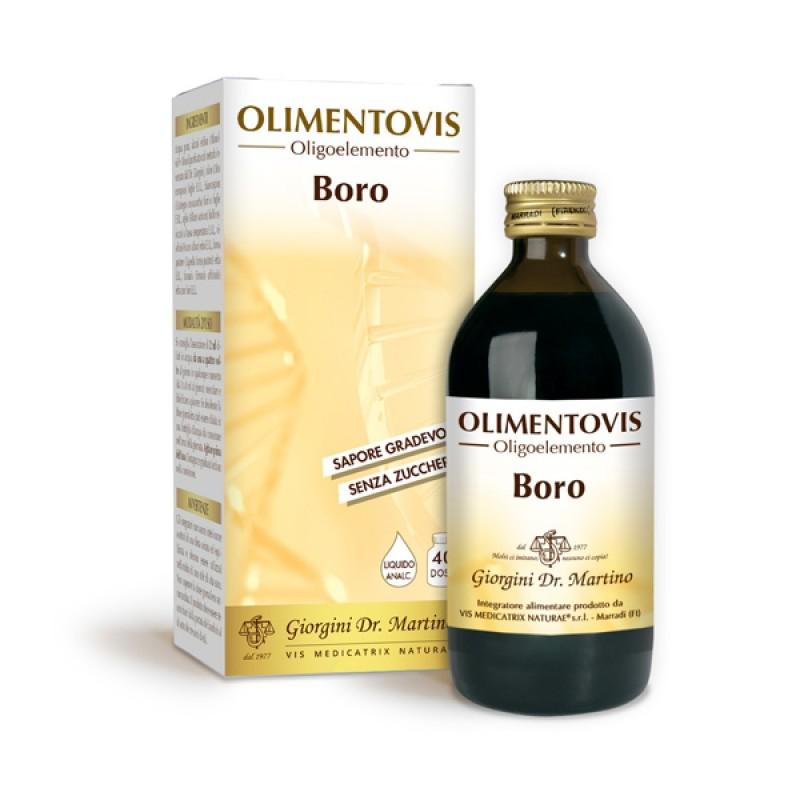 BORO Olimentovis 200 ml Liquido analcoolico - Dr. Giorgini