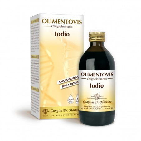 IODIO Olimentovis 200 ml Liquido analcoolico - Dr. Giorgini