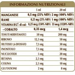 MANGANESE RAME COBALTO Olimentovis 200 ml Liquido analcoolico - Dr. Giorgini
