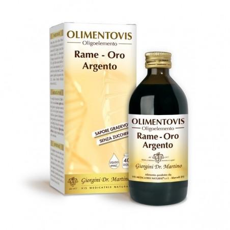 RAME ORO ARGENTO Olimentovis 200 ml Liquido analcoolico - Dr. Giorgini