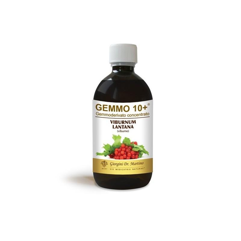 GEMMO 10+ Viburno 500 ml Liquido analcoolico - Dr. Giorgini