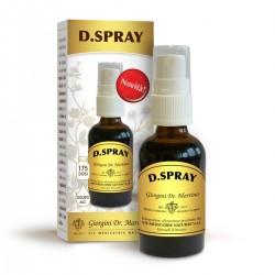 D.SPRAY Liquido alcoolico spray 30 ml - Dr. Giorgini