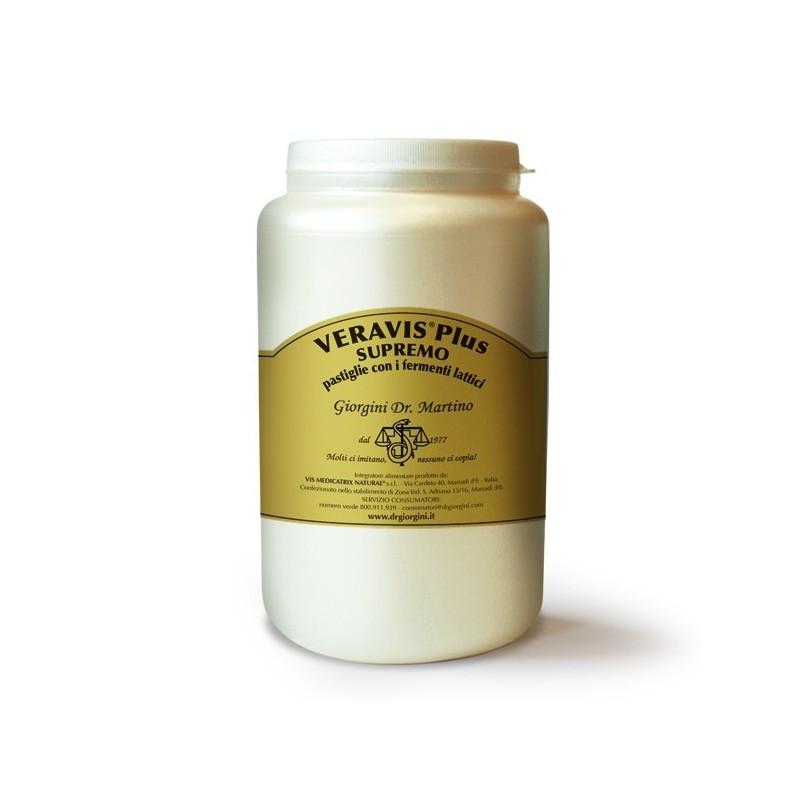 VERAVIS PLUS SUPREMO con fermenti lattici 2000 pastiglie (1000 g) - Dr. Giorgini
