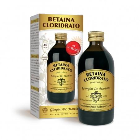 BETAINA CLORIDRATO 200 ml liquido analcoolico - Dr. Giorgini